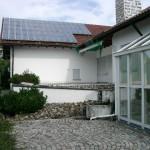 Photovoltike-Anlage auf em Dach